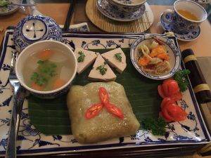 food for tet holiday - banh chung